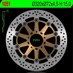 Front brake disc NG Ducati 899 PANIGALE / ABS 2014 - 2017