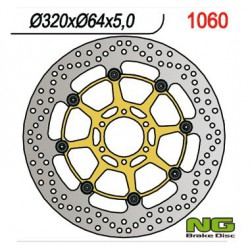 Front brake disc NG Aprilia 1000 RSV 4 / FACTORY / ABS 2009 - 2016