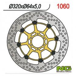 Front brake disc NG Aprilia 1200 CAPONORD ABS 2013 - 2014