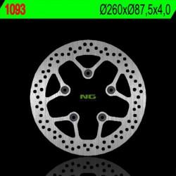"""Front brake disc NG Kymco 200 AGILITY 16"""" wheels 2009 - 2016"""
