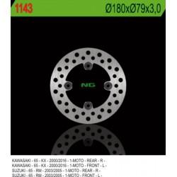 """Front brake disc NG Kawasaki 65 KX 14"""" / 12"""" wheels 2000 - 2019"""