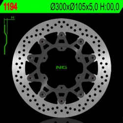 Front brake disc NG Husqvarna 650 TR STRADA / TR TERRA 2012 - 2014