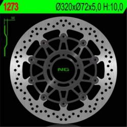 Front brake disc NG Ducati 1198 MONSTER S STRIPE 2015