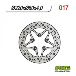 Front brake disc NG Aprilia 100 SCARABE0 2T 2000