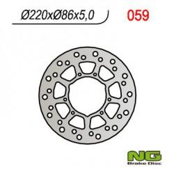 Front brake disc NG Yamaha 200 TW 1998 - 2020