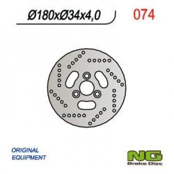 Front brake disc NG Suzuki 50 ADDRESS R 1995 - 2002