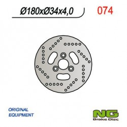 Front brake disc NG Suzuki 100 ADDRESS AH
