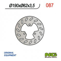 Front brake disc NG Derbi E ATLANTIS ELECTRIC 2005 - 2007