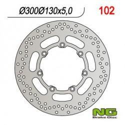 Front brake disc NG Kawasaki 1500 VN VULCAN DRIFTER 1999 - 2003