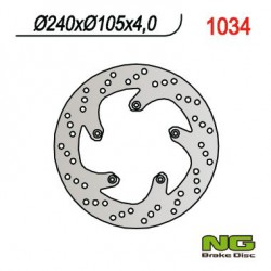 Front brake disc NG Benelli 250 VELVET / VELVET TOURING 1999 - 2012