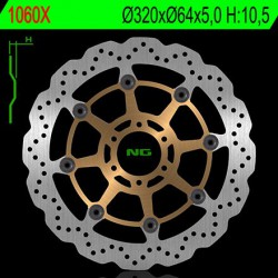 Front brake disc NG Aprilia 850 MOTO 6,5 PHILIP STARK 2007 - 2016
