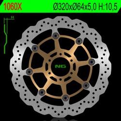 Front brake disc NG Ducati 350 F3 1986