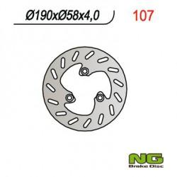 Front brake disc NG Daelim 100 SH