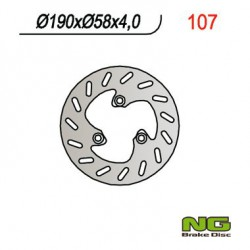 Front brake disc NG Derbi 100 PREDATOR 1998 - 2003