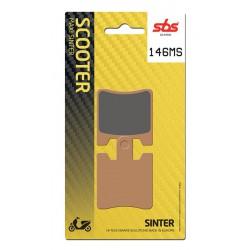 Front brake pads SBS SYM  300 Joymax Evo 2010 - 2012 směs MS