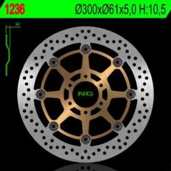Front brake disc NG Cagiva 1000 RAPTOR / V / X 2000 - 2007