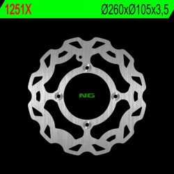 Front brake disc NG Beta 125 RR ENDURO 4T A.C. / L.C. 2008 - 2019