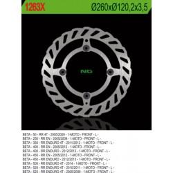 Front brake disc NG Beta 350 RR Efi ENDURO 4T 2013 - 2014