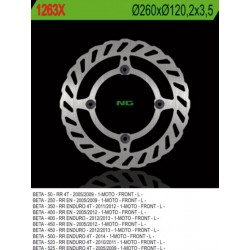 Front brake disc NG Beta 500 RR ENDURO 4T 2014