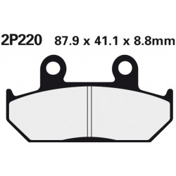 Front brake pads Nissin Honda GLX 1500 1988 -  type ST