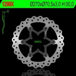 Front brake disc NG TM 125 MX - EN 1998 - 2001