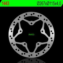 Front brake disc NG Yamaha 150 XENTER 2012 - 2019