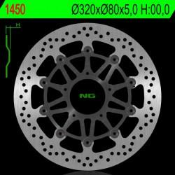 Front brake disc NG MV Agusta 675 BRUTALE / ABS 2012 - 2013