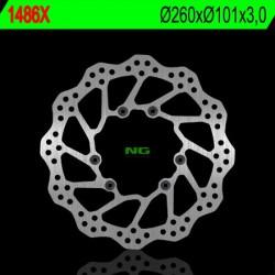 Front brake disc NG Honda 450 CRF R / RX ENDURO 2015 - 2020