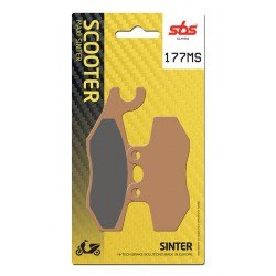 Front brake pads SBS Piaggio GTS 300 Super 2009 - 2012 směs MS