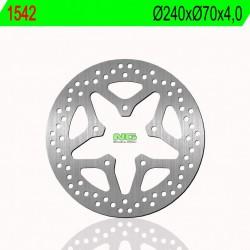 Front brake disc NG Peugeot 150 CITYSTAR 2014 -
