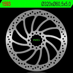 Front brake disc NG KTM 390 RC ABS, version 1 2017