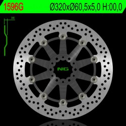 Front brake disc NG KTM 390 DUKE / ABS version 1 2017