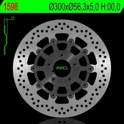 Front brake disc NG Harley-Davidson 1868 SOFTAIL FXDR FM 114 2019 - 2020