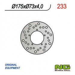 Front brake disc NG Piaggio E ZIP 2000