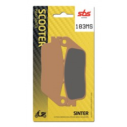 Front brake pads SBS Kymco  500 Xciting i Evo ABS 2011 - 2013 směs MS