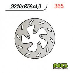Front brake disc NG Derbi 180 PREDATOR 1999 - 2002