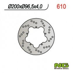"""Front brake disc NG Piaggio 180 SUPER HEXAGON GTX-11"""" 2000"""