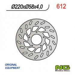"Front brake disc NG Benelli 125 ADIVA 12"" wheels 2000"