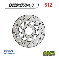 Front brake disc NG Gilera 150 SKR ST 4T 2000