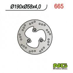 Front brake disc NG Benelli 100 491 K2 2001