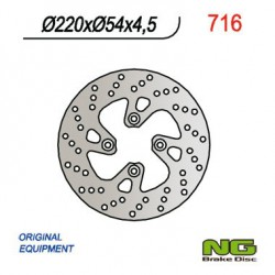 Front brake disc NG Yamaha 150 MAJESTY YP / YP TEO´S 1998 - 2000