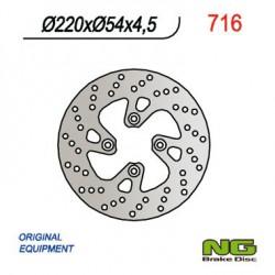 Front brake disc NG Yamaha 150 TEO´S 2001