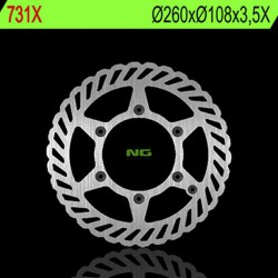 Front brake disc NG Gas Gas 80 ENDUROCROSS TT 1994 - 1998
