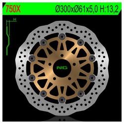 Front brake disc NG Kawasaki 1200 ZX 12R 2004 - 2007