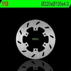 """Rear brake disc NG Piaggio 180 SUPER HEXAGON GTX-11"""" 2001 - 2003"""
