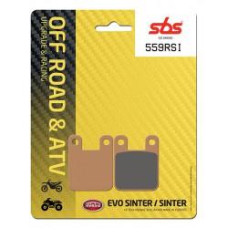 Front brake pads SBS Gas Gas  250 Pampera 1996 - 1999 směs RSI