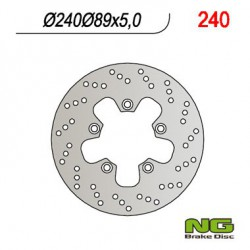 Rear brake disc NG Suzuki 900 R / RF / RR / RS / RS2 / T / V 1994 - 1997