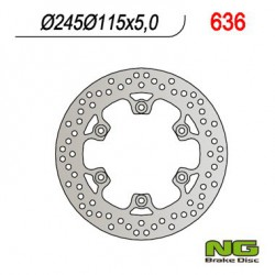 Rear brake disc NG Ducati 350 SUPERSPORT / SPORT 1991 - 1992