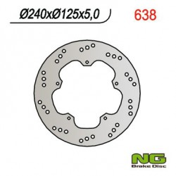 Rear brake disc NG Gilera 500 FUOCO E3 2007 - 2013