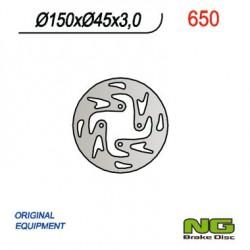 Rear brake disc NG Gas Gas 280 TXT RACING 2T 2002 - 2020